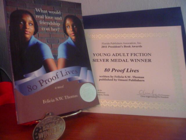 80 proof lives president's book award winner 2011