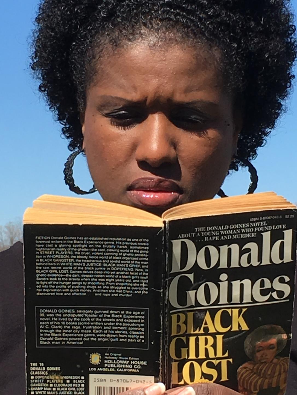joy reading black girl lost