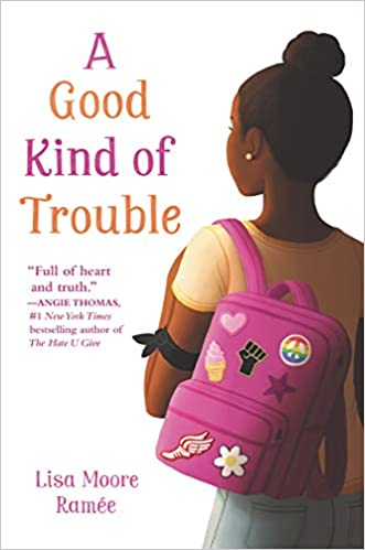 A good kind of trouble book